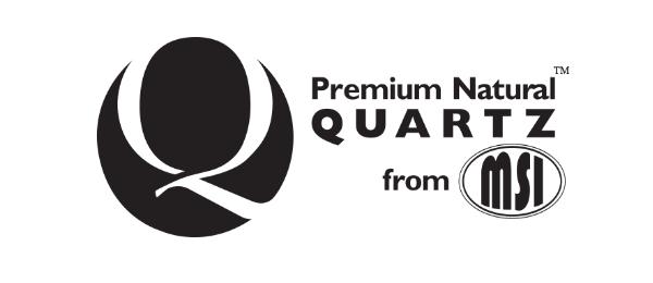 Premium Natural Quartz from MSI logo